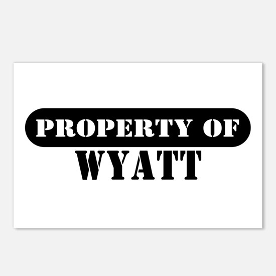 Property of Wyatt Postcards (Package of 8)