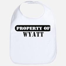 Property of Wyatt Bib
