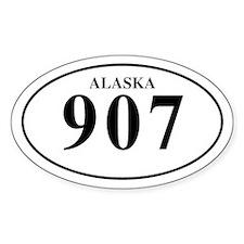 Alaska 907 Decal