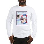 Agility Chinese Pugs Long Sleeve T-Shirt