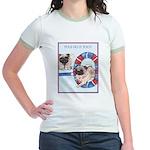 Agility Chinese Pugs Jr. Ringer T-Shirt