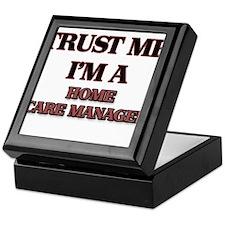Trust Me, I'm a Home Care Manager Keepsake Box