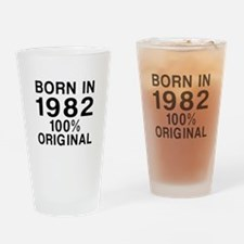 Born In 1982 Drinking Glass
