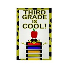THIRD GRADE IS COOL Rectangle Magnet