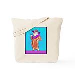 English Bulldog Diva Tote Bag