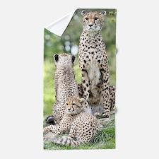 Cheetah002 Beach Towel