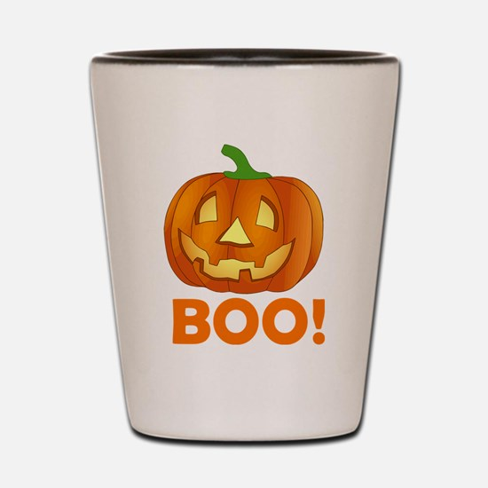 BOO! Shot Glass