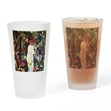 Couple in the Woods Drinking Glass