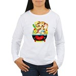 Elephant Love Women's Long Sleeve T-Shirt
