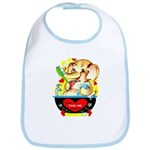 Elephant Love Bib