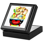 Elephant Love Keepsake Box