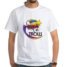 I Believe In Trolls Cute Believer Design Shirt