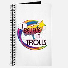 I Believe In Trolls Cute Believer Design Journal
