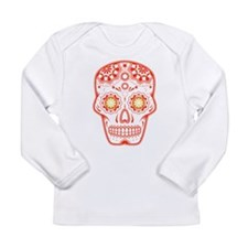 Unique Skull Long Sleeve T-Shirt