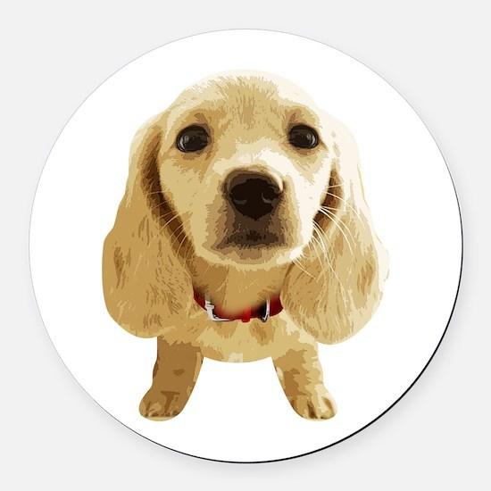 DAchshund004 Round Car Magnet