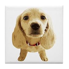 DAchshund004 Tile Coaster