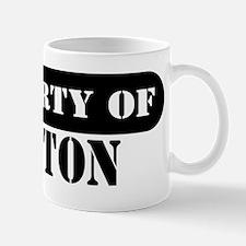 Property of Weston Mug
