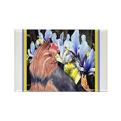 Unique Yorkshire Terrier Rectangle Magnet (100 pac