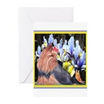 Unique Yorkshire Terrier Greeting Cards (Package o