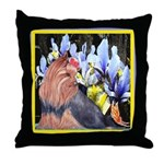 Unique Yorkshire Terrier Throw Pillow