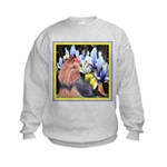 Unique Yorkshire Terrier Kids Sweatshirt