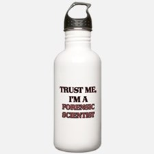 Trust Me, I'm a Forensic Scientist Water Bottle