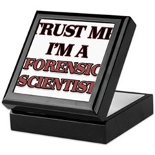 Trust Me, I'm a Forensic Scientist Keepsake Box