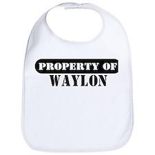 Property of Waylon Bib