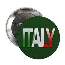 """Italy Bubble Letters"" 2.25"" Button (10 pack)"