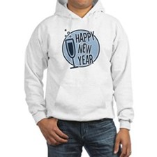 Happy New Year Champagne Hoodie