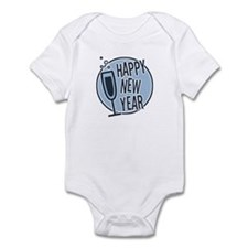 Happy New Year Champagne Infant Bodysuit