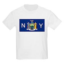 New York State Flag e1 T-Shirt