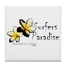 Unique Surfer paradise Tile Coaster