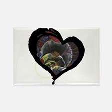 Not Alone Heart Rectangle Magnet