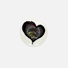 Not Alone Heart Mini Button (10 pack)