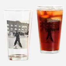 At Bat Drinking Glass