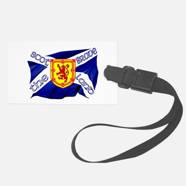 Scotland runner game on Luggage Tag