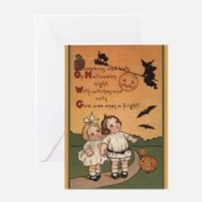 Vintage Halloween Card Greeting Cards