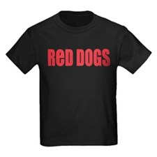 Red Dogs Red T-Shirt