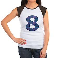 Blue tartan 8 T-Shirt