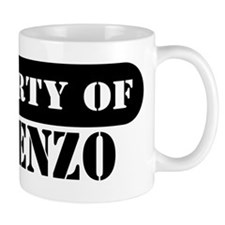Property of Vincenzo Small Mug