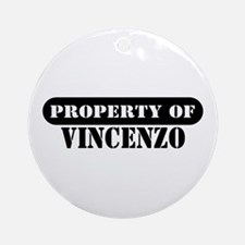 Property of Vincenzo Ornament (Round)