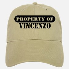 Property of Vincenzo Baseball Baseball Cap