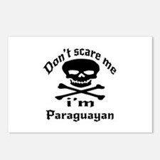 Do Not Scare Me I Am Para Postcards (Package of 8)