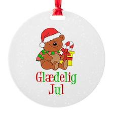 Glaedelig Jul Danish Christmas Ornament