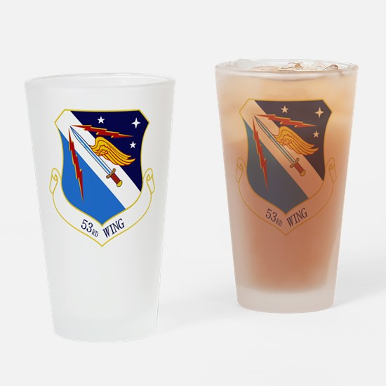 53rd W Drinking Glass