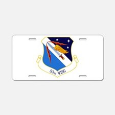 53rd W Aluminum License Plate