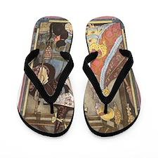 Vintage Cinderella Fairy Tale Flip Flops