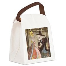 Vintage Cinderella Fairy Tale Canvas Lunch Bag