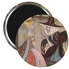 Vintage Cinderella Fairy Tale Magnet